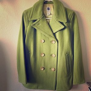 Light green coat